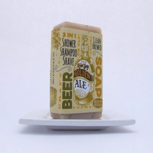 Golden Ale Beer Soap