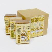 Box of Beer Soap for Men