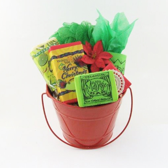 Festive Christmas Bucket
