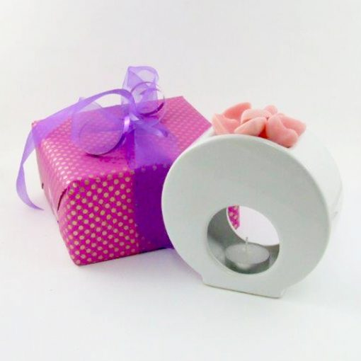 Oil Burner with Scented Soya Wax Gift NZ