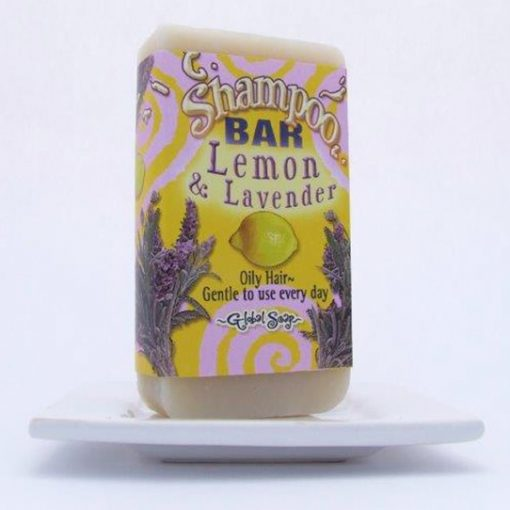 Lemon and Lavender Shampoo Bar