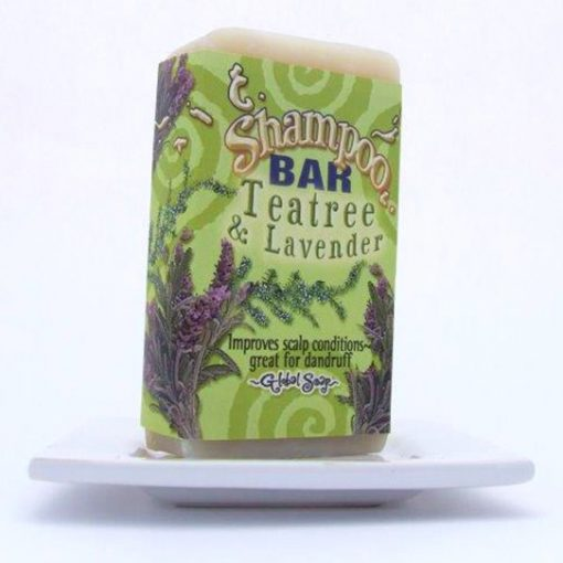 Teatree and Lavender Shampoo Bar