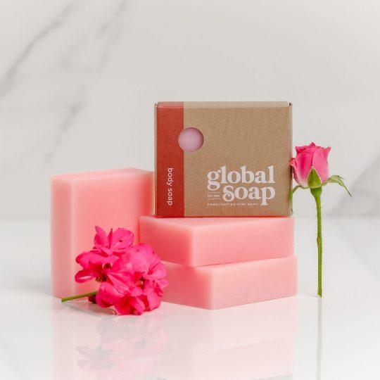 NZ Handmade Natural Rose Geranium Soap