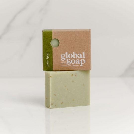 NZ Handmade Natural Lemongrass, Rosemary & Lime Soap