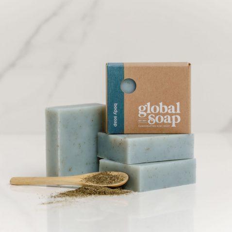 NZ Handmade Natural Patchouli & Kelp Soap