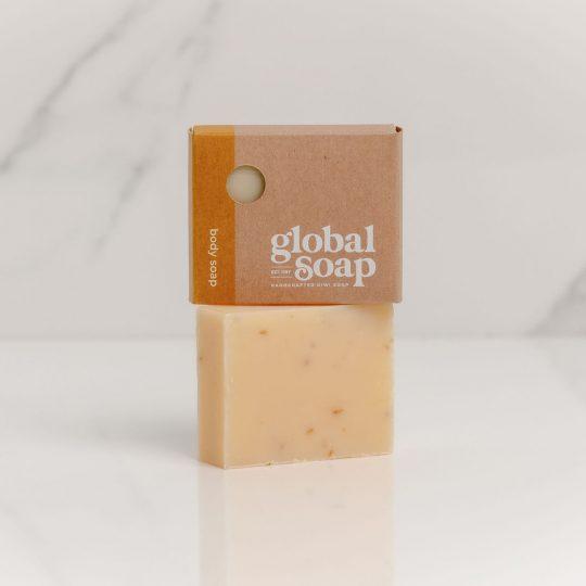 NZ Handmade Natural Citrus Mint Soap