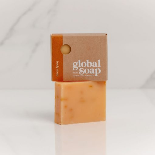 NZ Handmade Natural Calendula & Orange Soap