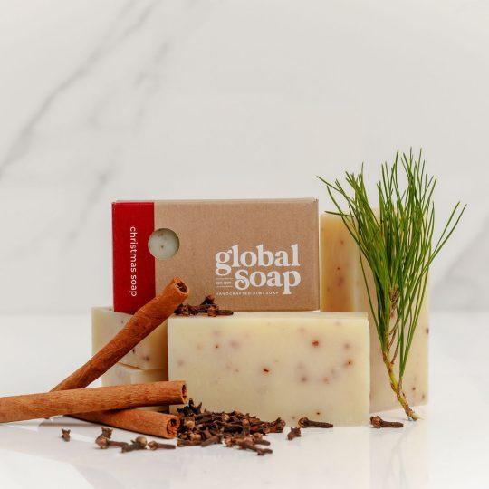 NZ Handmade Natural Christmas Soap