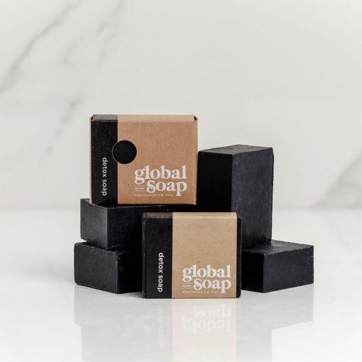 NZ Handmade Natural Charcoal Detox Soap