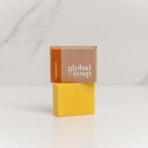 NZ Handmade Natural Conditioner Bar Orange