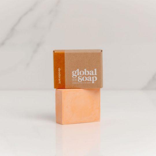NZ Handmade Natural Deodorant Bar Citrus