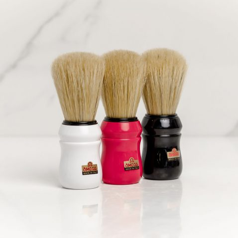 Omega Shaving Brush Boar Bristle
