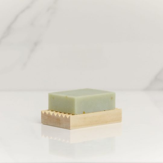 Natural Wooden Soap Rack Small