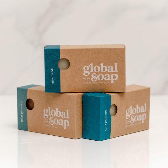 NZ Handmade Natural Milk Soap Bar Trio